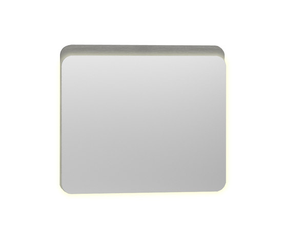 Nest Mirror with LED lighting by VitrA Bad | Wall mirrors