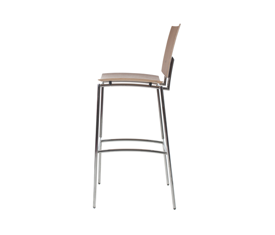 Press barstool walnut by Plycollection | Bar stools