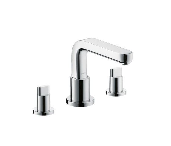 hansgrohe metris s 3 loch wannenrandarmatur dn15 badewannenarmaturen von hansgrohe architonic. Black Bedroom Furniture Sets. Home Design Ideas