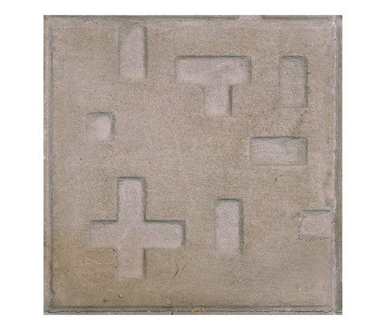Pictorial pavements | Piet Mondrian by Santa & Cole | Floor tiles