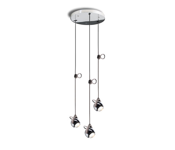 Falling Star Suspension Trio round by Tobias Grau | General lighting