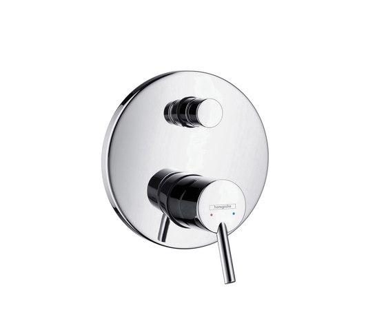 hansgrohe Talis S Mezclador monomando de bañera empotrado con combinación de seguridad integrada según EN1717 de Hansgrohe | Grifería para bañeras