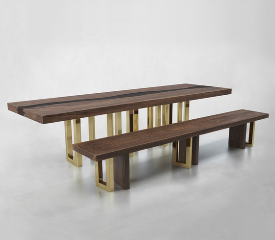 IL PEZZO 6 BENCH & TABLE by Il Pezzo Mancante | Tables and benches