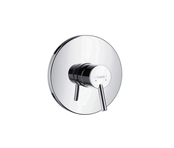 hansgrohe Talis S Single lever shower mixer for concealed installation by Hansgrohe | Shower controls