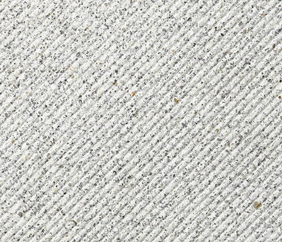 Ciara argento, diagonalstruktur by Metten | Concrete panels
