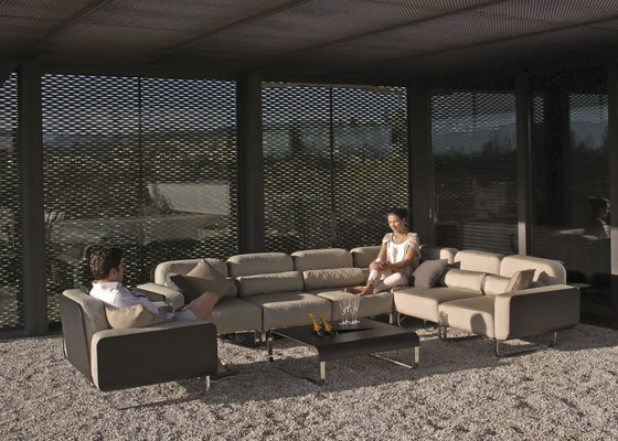 Fold sofá seccional de Royal Botania | Sofás de jardín