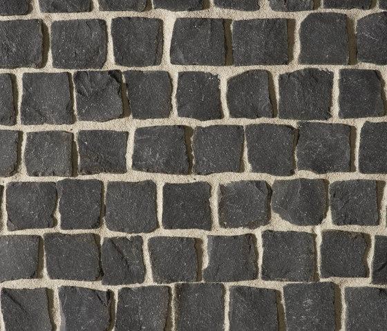 Basalt schwarz Pflaster, gespalten by Metten | Concrete / cement flooring