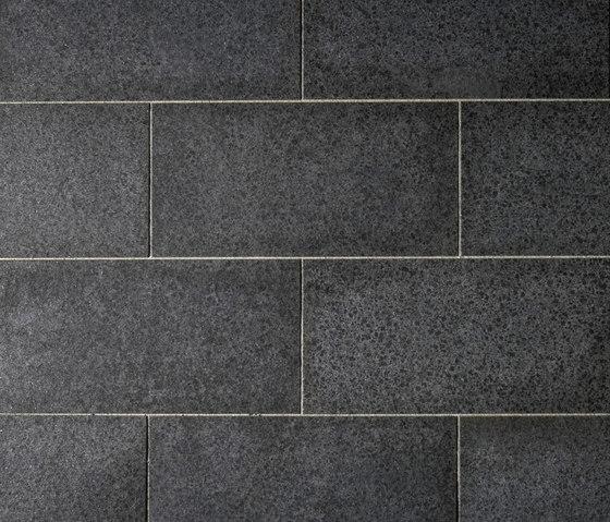 Basalt schwarz Platten, geflammt di Metten | Lastre pietra naturale