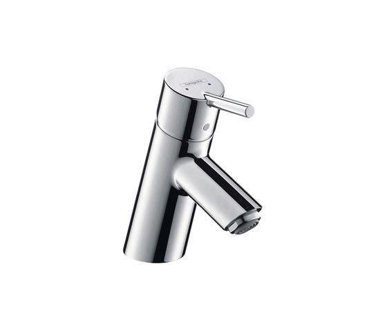 hansgrohe Talis S Mezclador monomando de lavabo con vaciador automático para calentadores abiertos de Hansgrohe | Grifería para lavabos