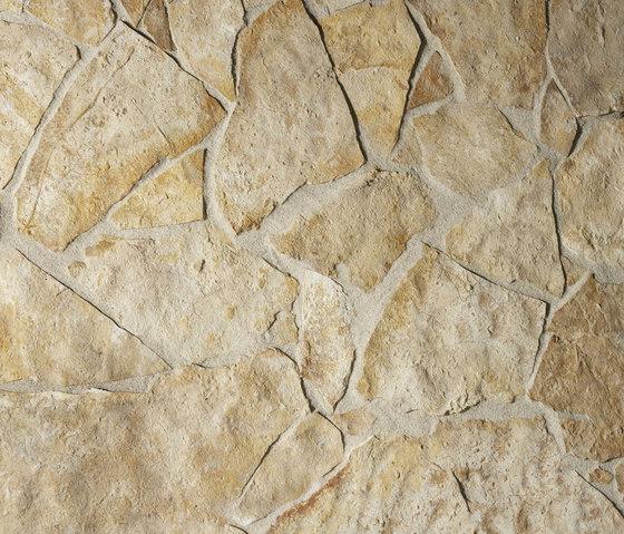 Salerno Polygonalplatten, spaltrau di Metten | Lastre pietra naturale