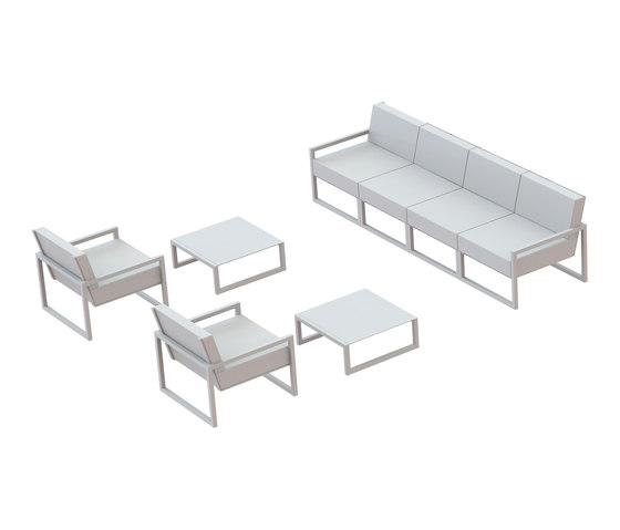 Ninix modular lounge di Royal Botania | Divani da giardino