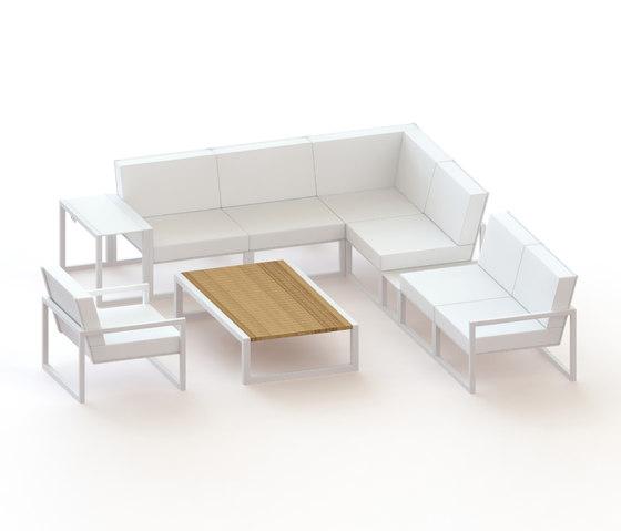 Ninix modular lounge de Royal Botania | Sofás de jardín