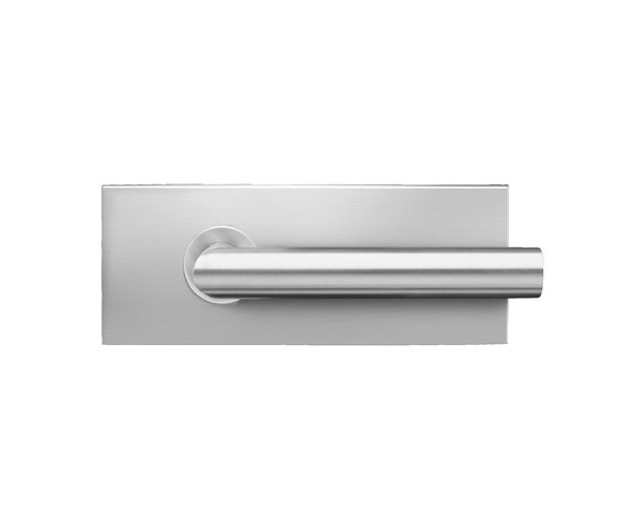 Glass door fitting EGS 110 by Karcher Design | Lever handles for glass doors