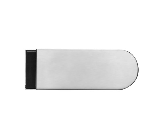 Glass door fitting EGS 120 by Karcher Design | Lever handles for glass doors