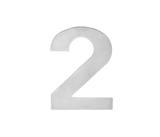 House number EZ 205 by Karcher Design | Numerals