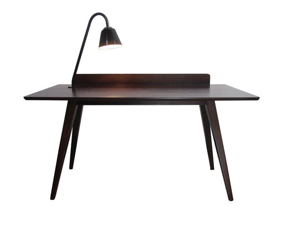 Blake Table (with back-piece and Light) by Eleanor Home | Desks