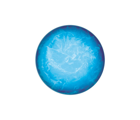 Lichtobjekt Rund Blau de art aqua | …objetos luminosos