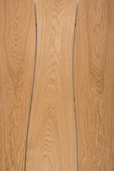 Outdoor tabletop Oak beveled by Boleform | Tabletops