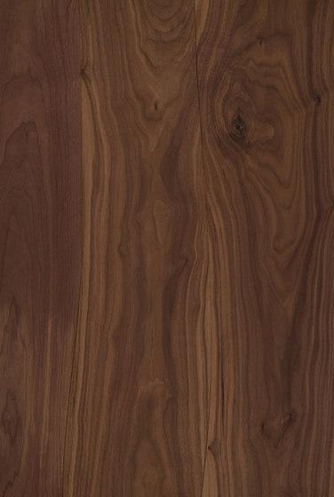 Furnier-Oberfläche Nussbaum nicht abgeschrägt von Boleform | Holz Furniere