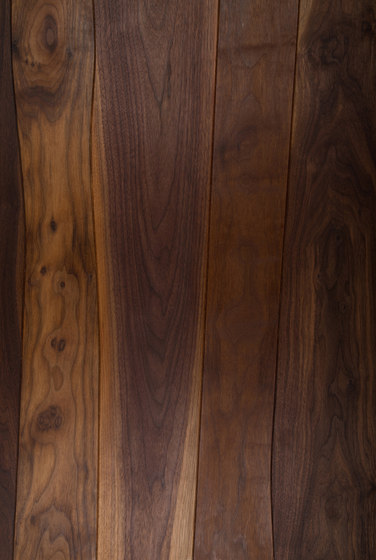 Veneered panel for furniture manufacturing Walnut beveled by Boleform | Wood veneers