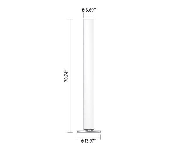 stylos illuminazione generale flos architonic. Black Bedroom Furniture Sets. Home Design Ideas