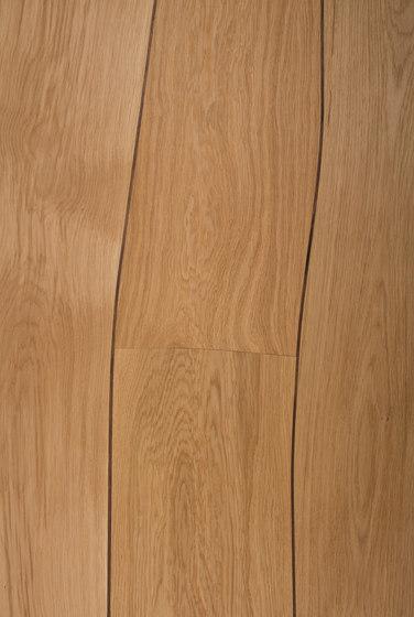 Walling oak with walnut inlay by Boleform | Wood veneers