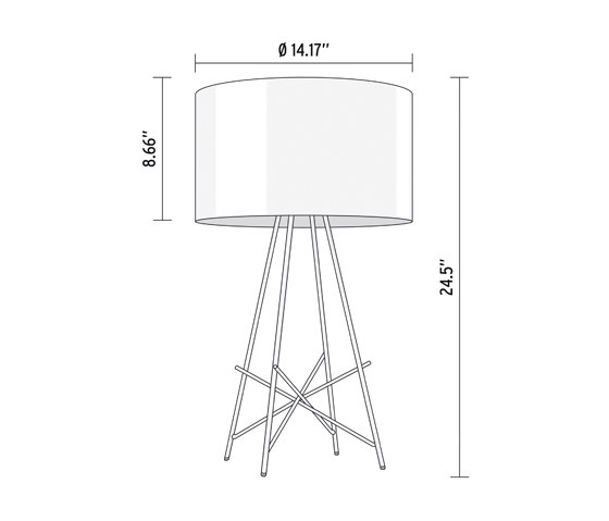 Ray T by Flos   General lighting
