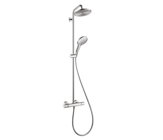 hansgrohe Raindance Select S 240 1jet Showerpipe EcoSmart 9 l/min by Hansgrohe | Shower controls