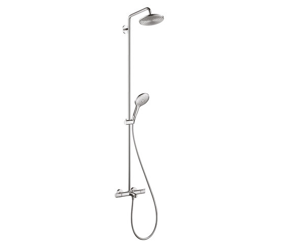hansgrohe Raindance Select S 240 1jet Showerpipe for bath tub by Hansgrohe | Shower controls