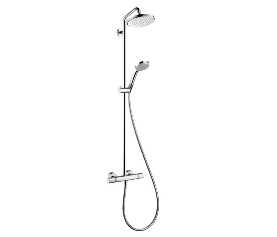 Hansgrohe Croma 220 Showerpipe DN15 by Hansgrohe   Shower columns / panels