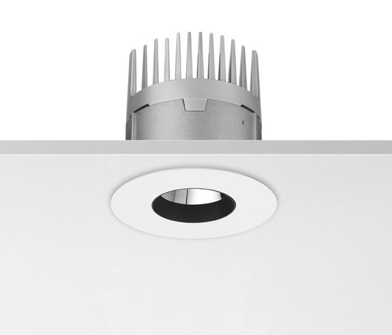 Light Sniper Fixed Round Phosphor 22W LED by Flos | Recessed ceiling lights