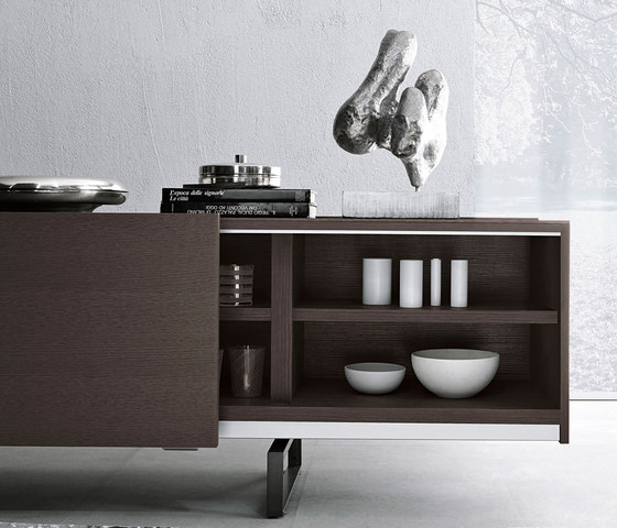 Sideboards Square von Misura Emme | Sideboards / Kommoden