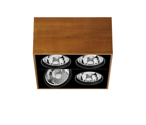 Compass Box Large 4L Square QR-111 by Flos   General lighting