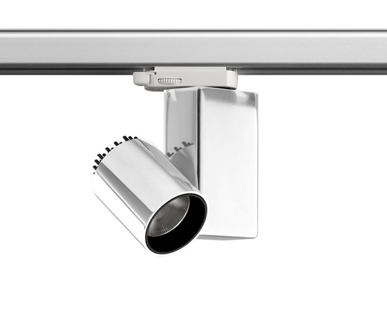 Fort Knox 1 Track LED by Flos | Ceiling-mounted spotlights