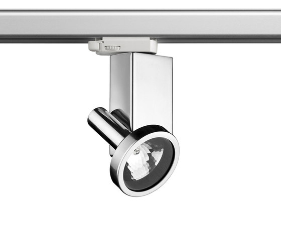 Fort Knox 1 Track QT-12 by Flos | Ceiling-mounted spotlights