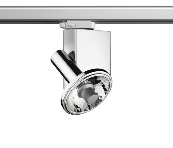 Fort Knox 2 Track CDM-R111 by Flos | Ceiling-mounted spotlights
