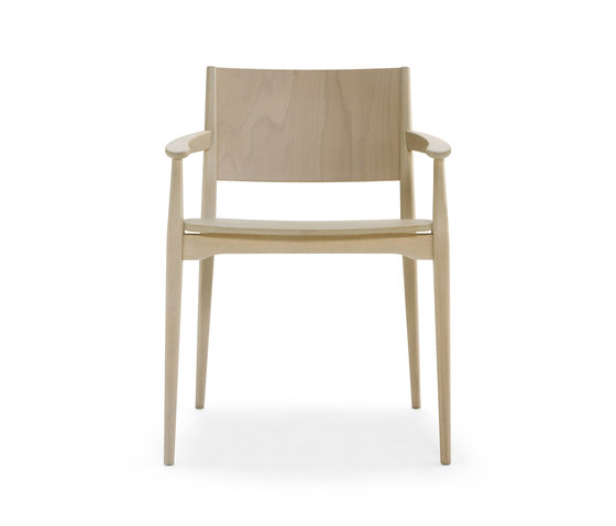 Blazer chair with armrests von Billiani | Restaurantstühle