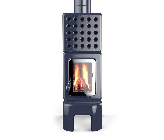 Cubi Stack long by La Castellamonte | Stoves