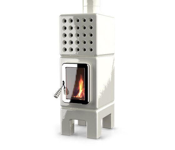 Cubi Stack slim by La Castellamonte | Wood burning stoves