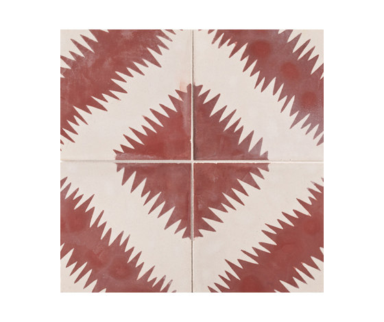 Paccha Zigzag by Ann Sacks | Ceramic tiles