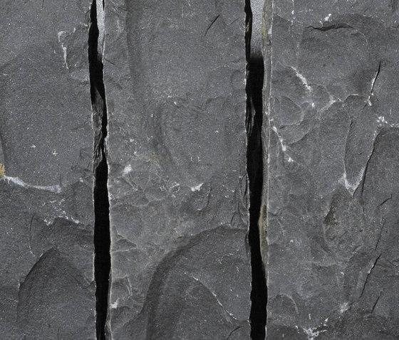 Basalt anthrazit Palisaden von Metten | Sichtschutz
