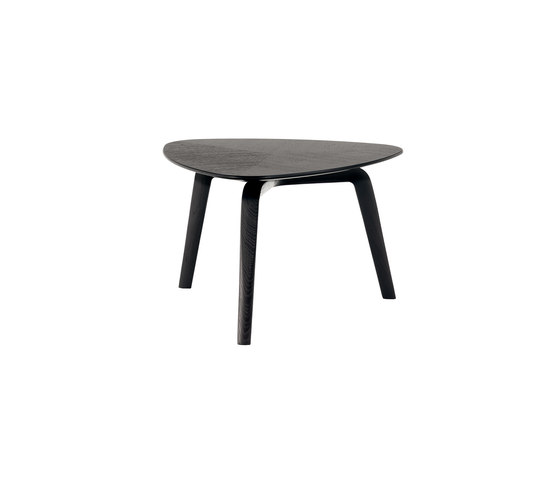 Fiorile triangular de Poltrona Frau | Tables d'appoint