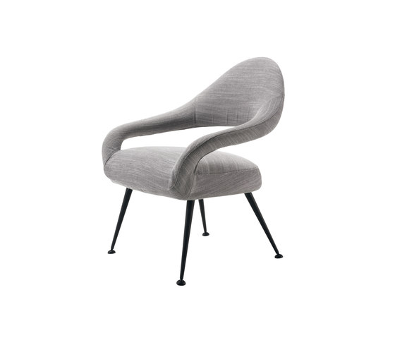 Letizia by Poltrona Frau | Lounge chairs