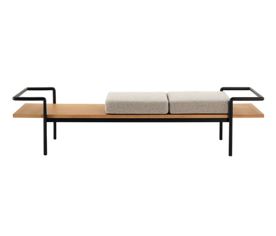 T 904 by Poltrona Frau | Upholstered benches