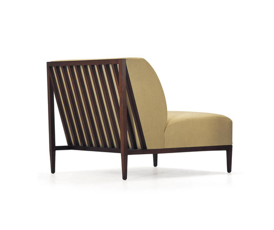 Rosenau Slat Back Lounge Chair by Bolier & Company | Armchairs