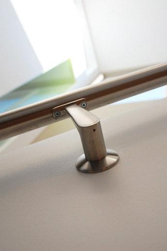 FF-01 glass mounted handrail bracket by componance | Handrails