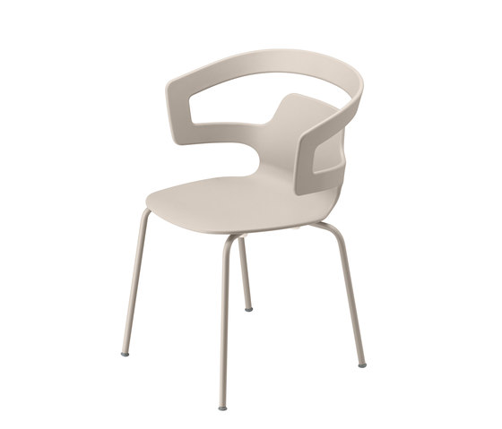 segesta chair 500 colors de Alias | Chaises polyvalentes