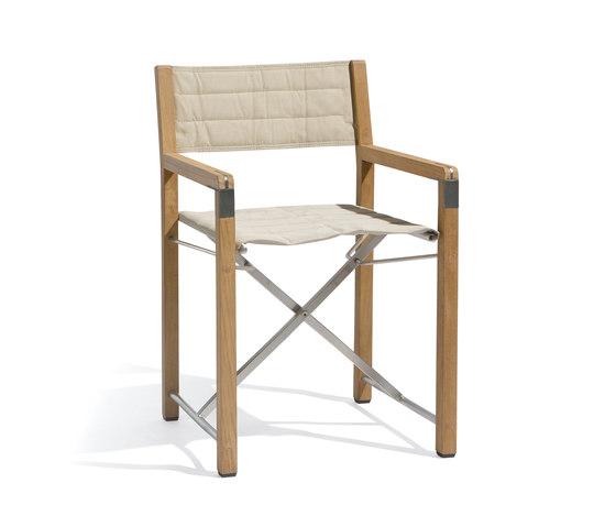 Cross chair teak de Manutti   Sillas