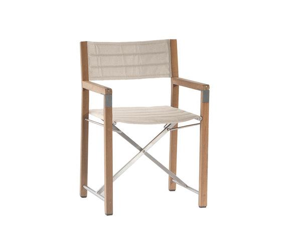 Cross chair by Manutti | Garden chairs