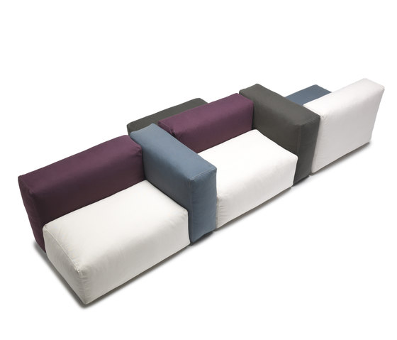 Oblong System by Cappellini | Modular seating systems